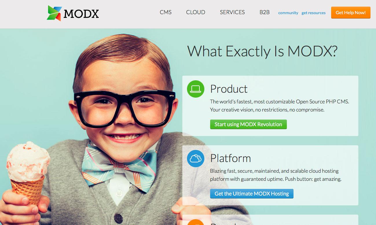 Gérer votre site avec MODx